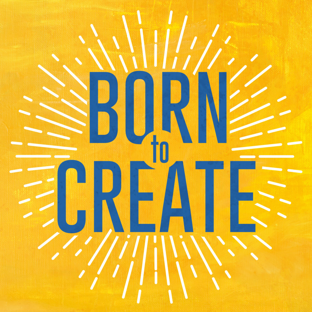 BornToCreatePodcastCover